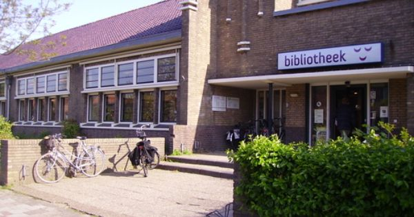 bibliotheek voorschoten: my old school turned into a library
