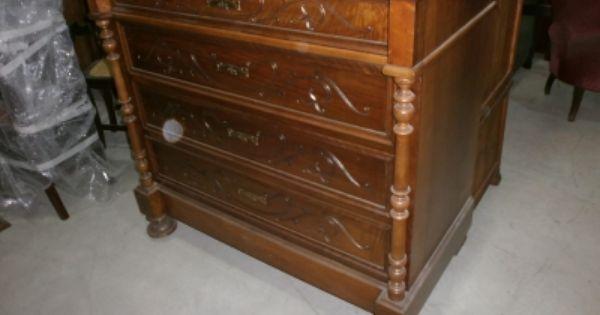 Antigüedades y Restauración de Muebles Cómoda modernista