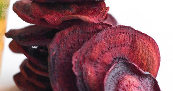To create thin, evenly sliced beets, use a mandoline slicer -- plastic