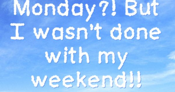 Monday Quotes For Facebook