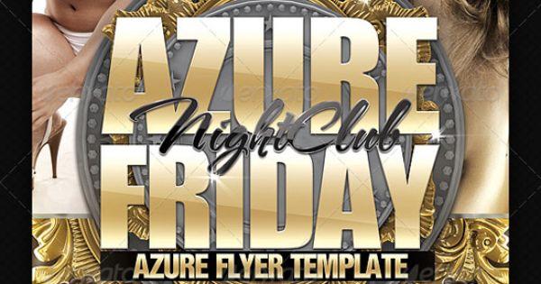 Azure Flyer Template Graphic Design Pinterest – Azure Flyer Template