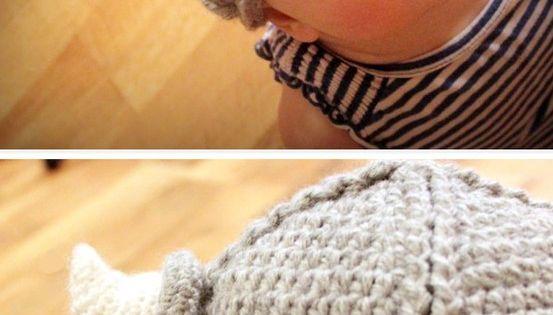 Little Viking Hat - SO cute! crochet pattern babies okay, so it's