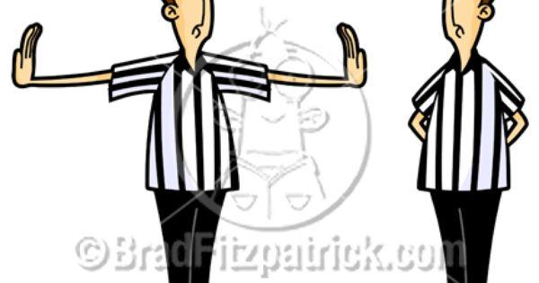 Cartoon Referee Clipart Cartoon Referee Clip Art