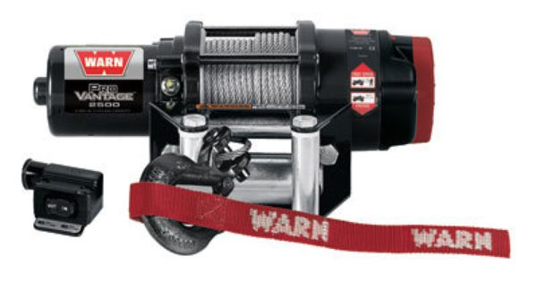 Warn Pv2500 Provantage Winch With Wire Rope 2500 Lb Atv Winch Winches Winch