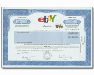 Buy One Share Of Ebay Stock In 2 Minutes For Yourself Or As An