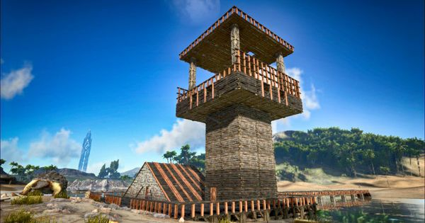 Made Myself A Birdcage Tower At My Little Base Hopefully It Will Be Filled With An Argent At