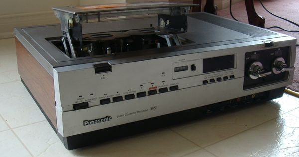 panasonic vhs video cassette recorder vhs taps pinterest. Black Bedroom Furniture Sets. Home Design Ideas