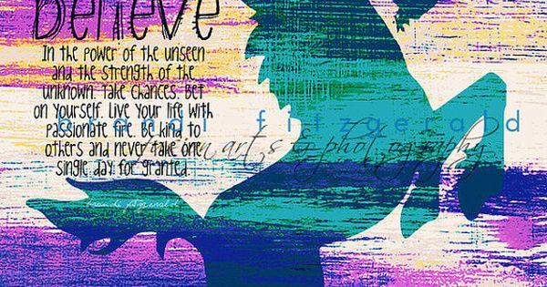 Unicorn Power. Mystical Nursery Kids Decor Quotable Fusion Paintographic Fine Art Print