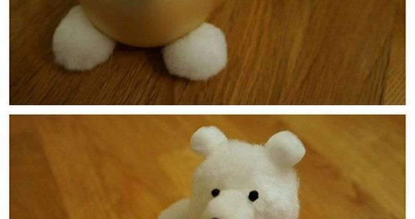 Fun craft idea to do with the kids Christmas tree teddy bear