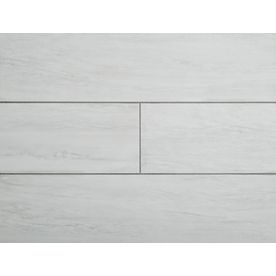 Stainmaster 6 In X 24 In Groutable White Waza Peel And Stick Luxury Vinyl Tile Lowes Com White Vinyl Flooring Vinyl Tile Luxury Vinyl Tile