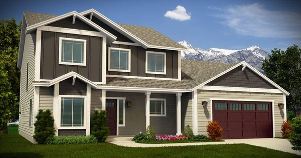 Adair Homes Plan 2659 2 Story 4 Bedroom 2 5 Bathroom