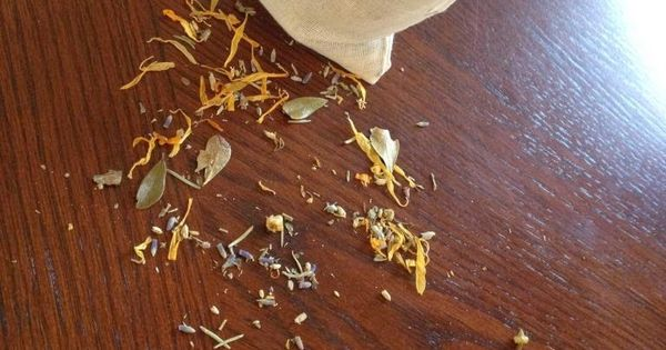 Postpartum Herbal Bath Tea