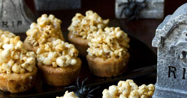 Carmel Corn Blondies Recipe | Halloween Recipe, Caramel Corn and ...