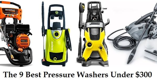 9 Best Pressure Washers Under 300 In 2020 Reviews Guide