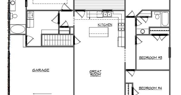 Basement apartment floor plans basement entry floor plans for Basement apartment floor plans