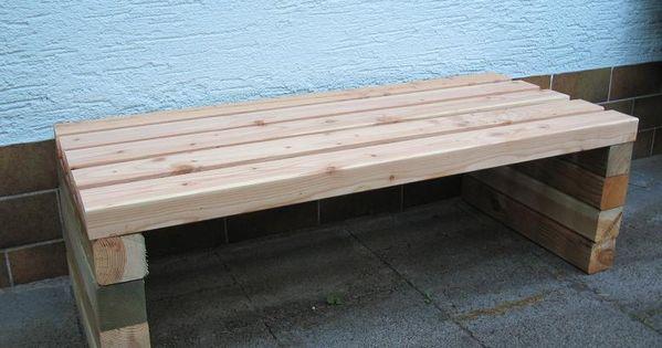 Gartenbank selber bauen - Seite 1 - Gartenpraxis - Mein schöner - sitzbank aus holz selber bauen
