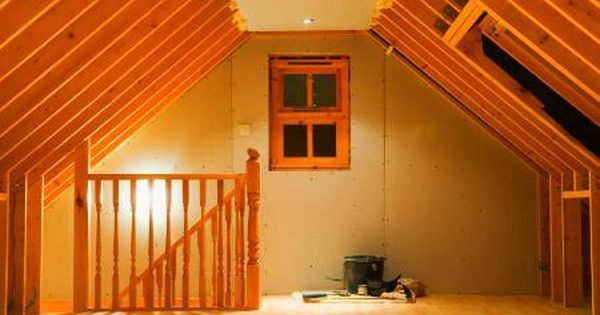 When Finishing An Attic The Biggest Question Is Often How To Regulate The Temperature Because Attics Are Naturally Attic Renovation Attic Rooms Attic Remodel
