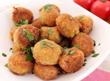 Κολοκυθοκεφτέδες+με+φέτα+στο+φούρνο | Συνταγές | Pinterest