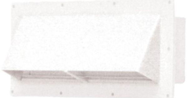 Amazon Com Ventline V2111 13 Polar White Horizontal Exterior Wall Vent Automotive Wall Vents Wall Exterior Accessories