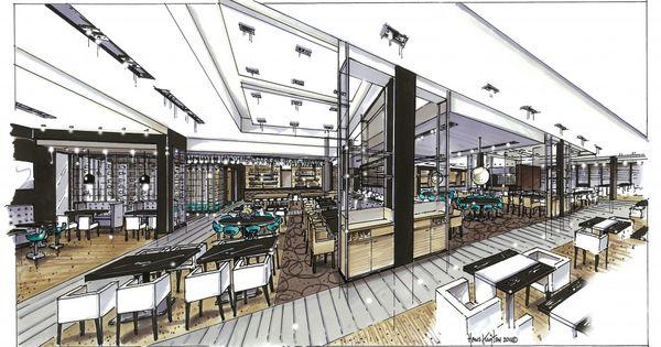 Hotel zwolle restaurant totaal rendering pinterest for Design hotel zwolle