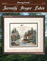 Floral Serenity Prayer by Stoney Creek LFT293 Cross Stitch pattern