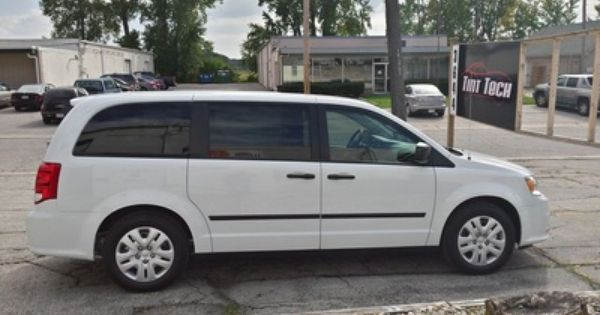 Grand Caravan With 50 Window Tint On The Front 2 Doors And 15 On