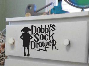 Sticker Pour Tiroir A Chaussettes Harry Potter Dobby Noir 15 Cm Dobby Socke Baby Harry Potter Harry Potter Geschenke