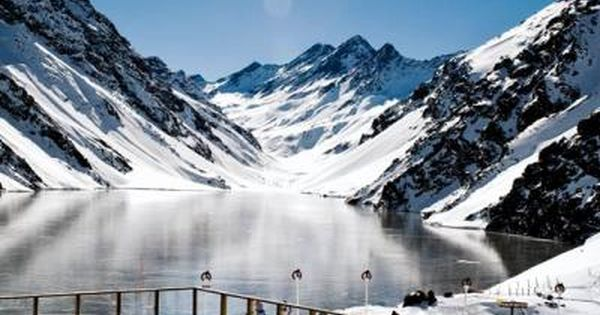 Portillo Pool. Swimming above the Lake of the Incas provides an incredibly