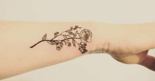 Wildflower Tattoo Design - Google Search …