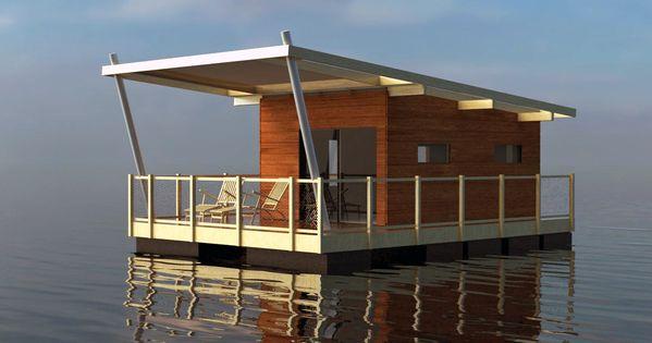 Aqua 002 Habitation Sur L 39 Eau Maison Flottantes Pinterest Aqua Boating And House