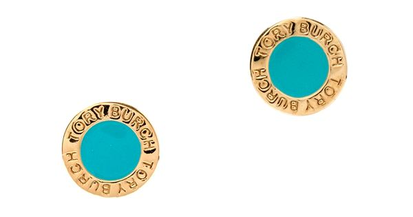 Tory Burch turquoise earrings