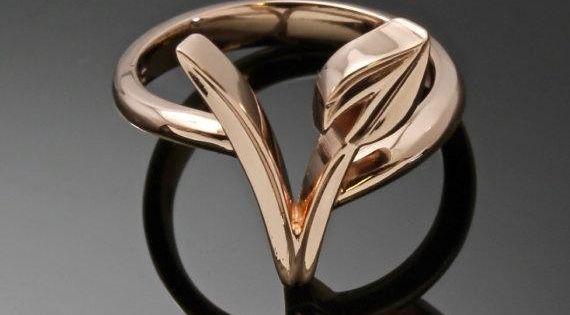 veganism gifts Vegan Engagement Wedding Ring Vegetarian Jewelry Vegan Birthday Gift for Vegetarian Silver Vegan Men Ring