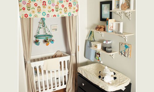 Put Baby In The Closet: 20 Small Space Nursery Ideas | Disney