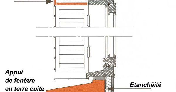 Appui de fen tre sur un mur de ma onnerie d tails for Poser un appui de fenetre prefabrique