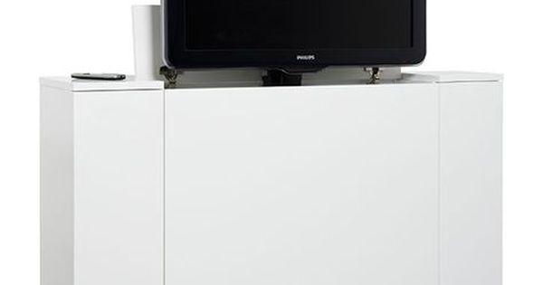 onze nieuwe tv kast met ingebouwde tv lift 12 tv pinterest tvs