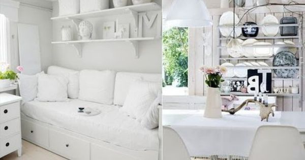 Gathering Spriggs Home Bedroom Renovation White Sofa Bed