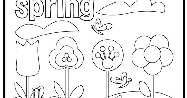 Colouring Sheets For Kids With Garden Pots | Autos Post
