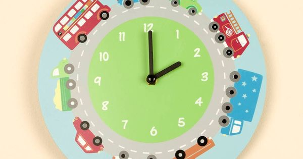 Wall Clocks For Childrens Bedrooms Childrens Bedrooms Children Room Boy Wall Clock
