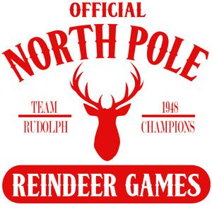Silhouette Design Store North Pole Reindeer Games Silhouette