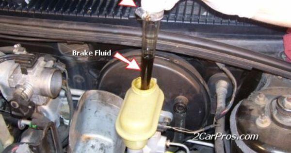 Removing Brake Fluid Car Fix Car Brake System Brake Fluid