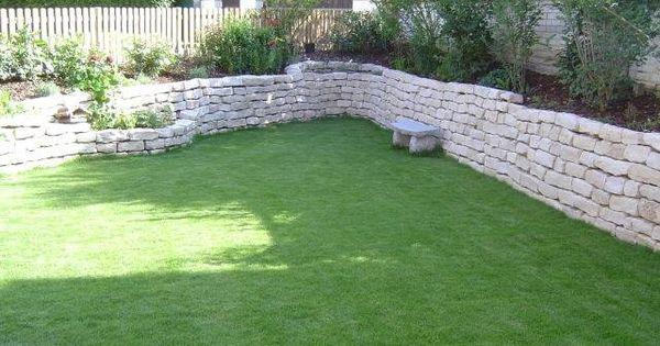 Garten Trockenmauer Naturstein Rock Wall Garten Garten Ideen Garten Hochbeet