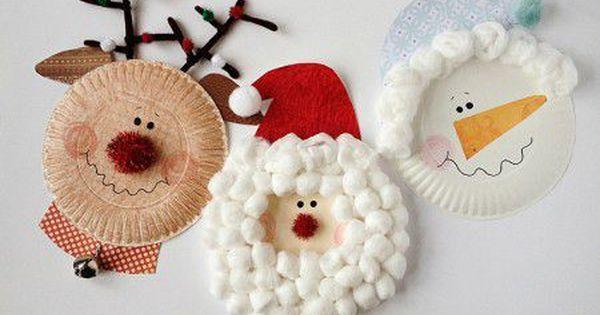 Como hacer adornos navide os con ni os manualidades - Manualidades faciles de navidad para ninos ...