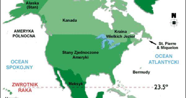 Ameryka Polnocna Podzial Polityczny Ameryka Karaiby Alaska