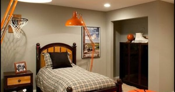 Basketball Theme Bedrooms All Sports Theme Bedroom Decorating