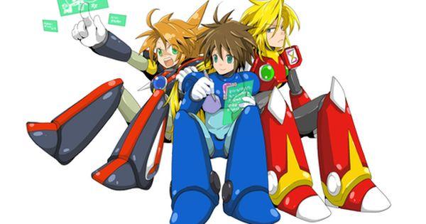 X Zero And Axl Without Their Helmets Mega Man Art Mega Man Character Art