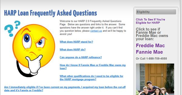 Frequently Asked Questions to the HARP 2 Program | Real Estate ...