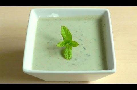 Yogurt Mint Sauce How to Make Raita dip - YouTube | F&B. Bachelor ...