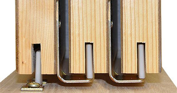 Johnson Hardware 100mp Sliding Multi Pass Pocket Door Hardware