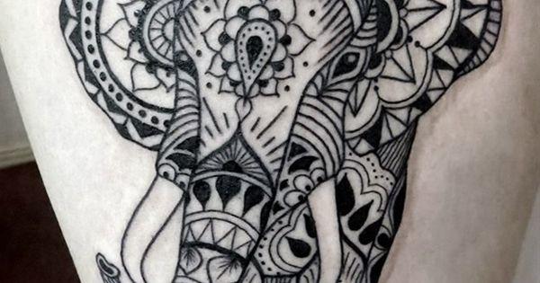 tattoo ink elephant