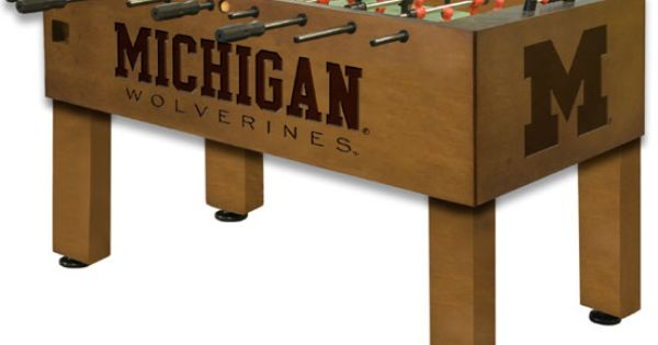 University Of Michigan Foosball Table Man Or Woman
